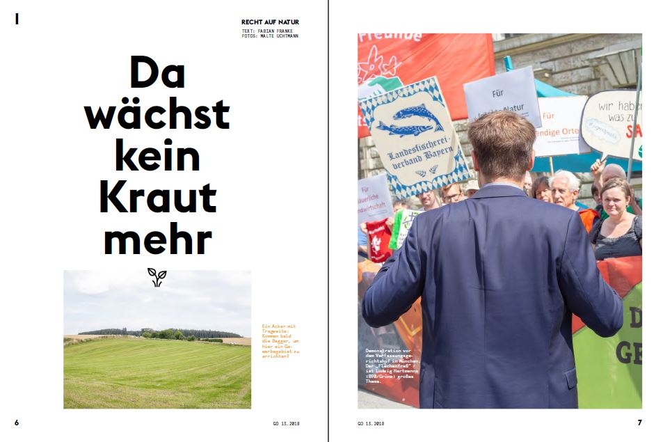 Fabian Franke Journalist Reportage Flächenverbrauch Versiegelung