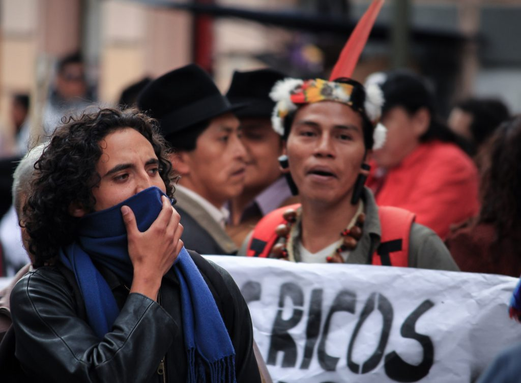 Fabian Franke Buen Vivir fluter Ecuador Bolivien