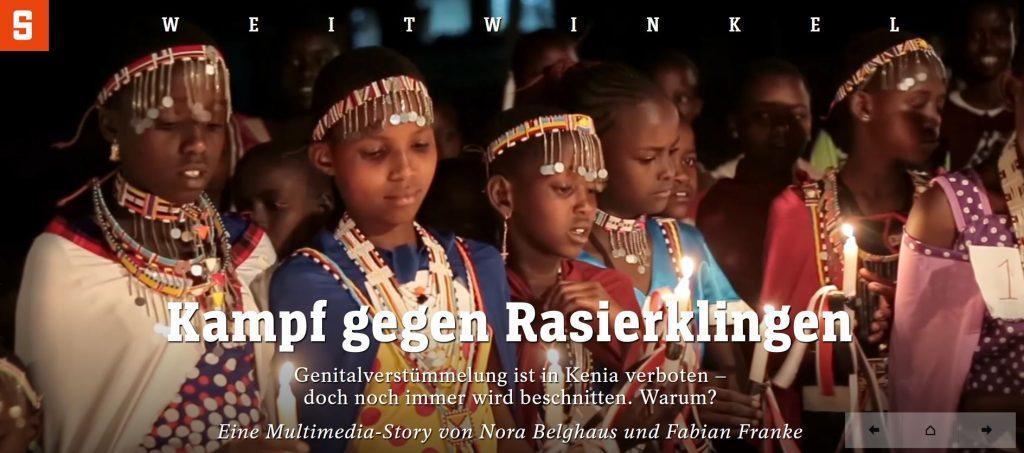 Genitalverstümmelung FGM Multimedia SPIEGEL Fabian Franke Nora Belghaus